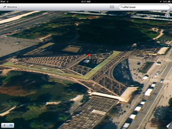 نقشههای اپل در iOS 6