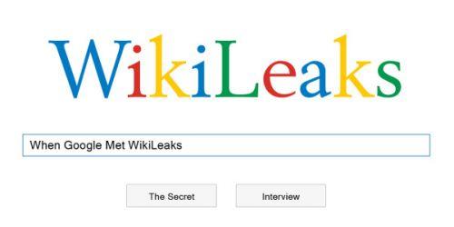 زمانی که گوگل، ویکیلیکس را ملاقات کرد