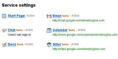 Google Email Service